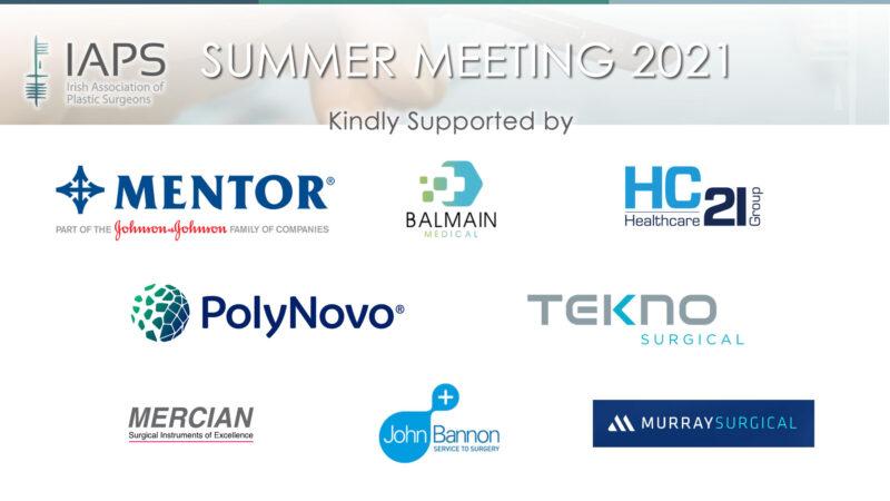IAPS Virtual Summer Meeting Sponsors
