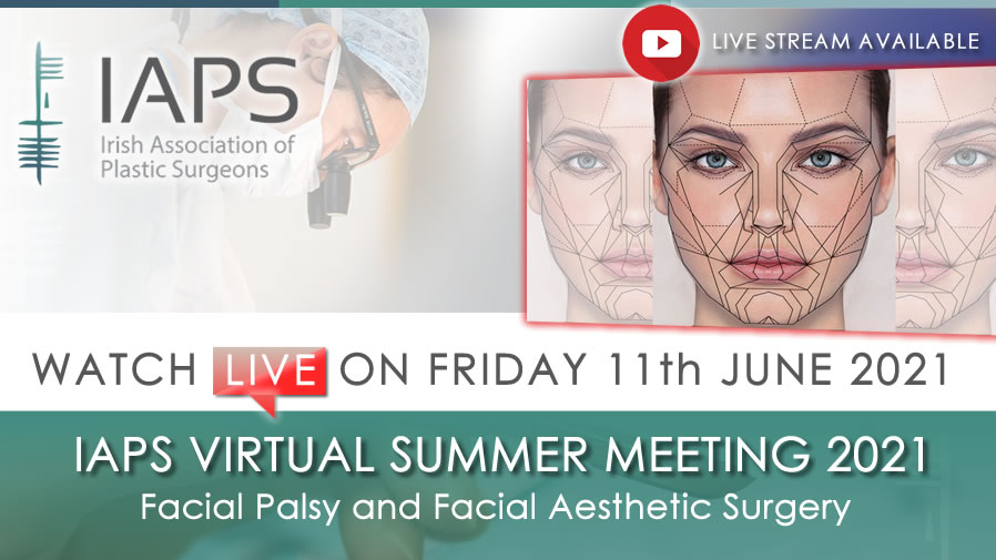 IAPS Virtual Summer Meeting 2021 - Watch LIVE on June 11